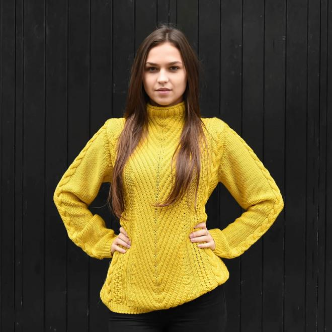 Ladies Ribbed Jersey