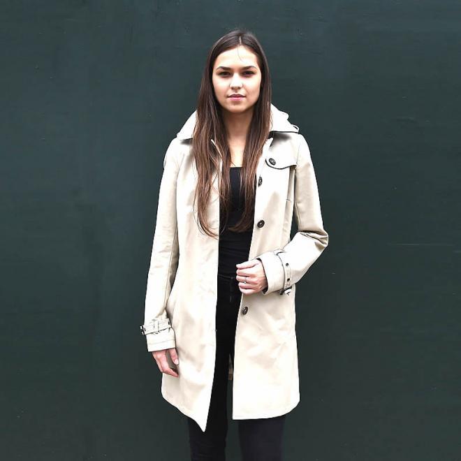 Ladies Mackintosh Raincoat