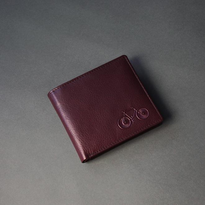 Deep Purple Leather Wallet (K)