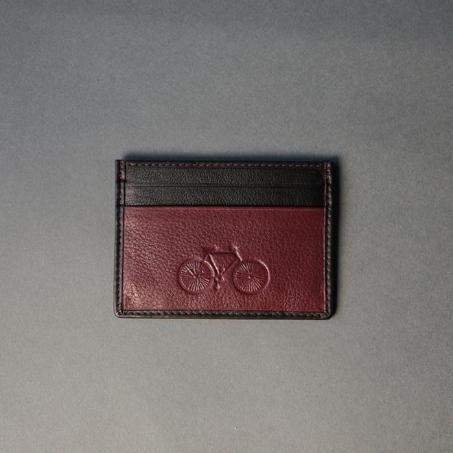 Burgundy Card Holder 04