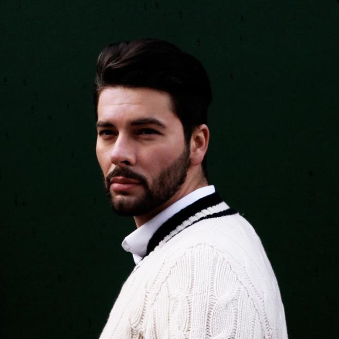 White Cricket Sweater