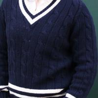 Navy Cricket  Sweater