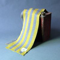 100% Extra Fine Merino Stripe Scarf