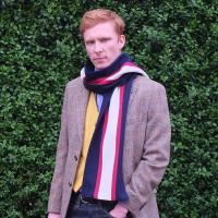 Wool College Scarf