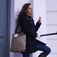 Ladies Plain Khaki Canvas Bag
