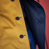 Reversible 'Contrast' Mackintosh