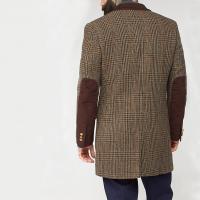 Mens-Tweed-Overcoat-Single-Breasted