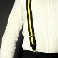 Yellow and Navy Braces