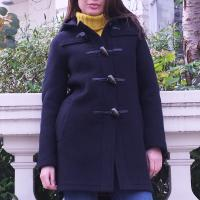 Classic Ladies Duffle Coat