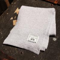Slate Grey 100% Pure New Woollen Scarf