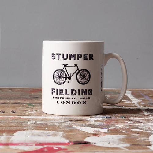 Stumper and Fielding Cup, Bike with text