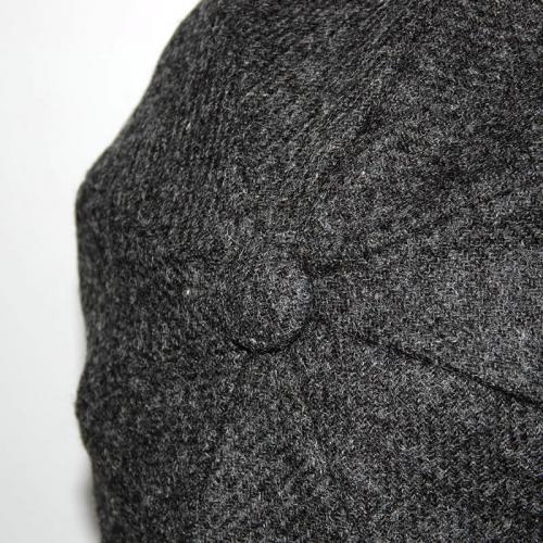 Shetland Wool Baker Boy Cap