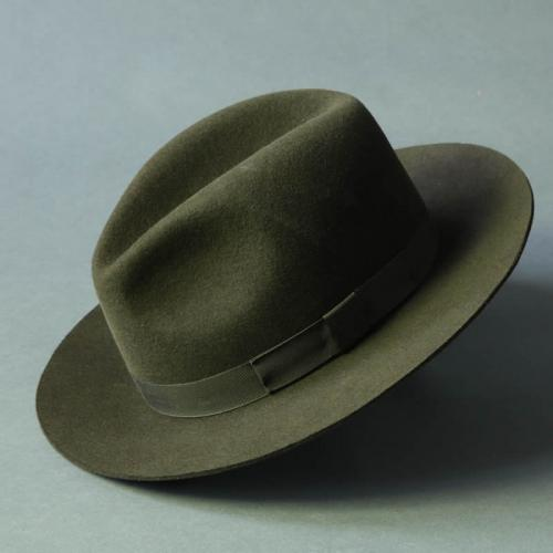 Fur-Felt Trilby Green