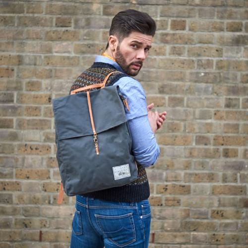 Lightweight woven Backpack