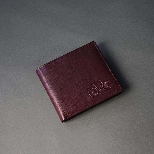 Deep Purple Leather Wallet (K)