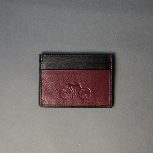 Burgundy Card Holder 04