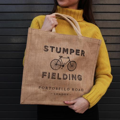 Canvas Shopper Stumper and Fielding Bag