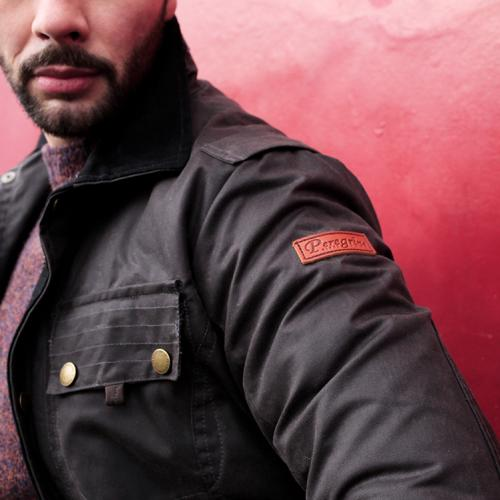 Peregrine Bexley Jacket-Gun Metal grey
