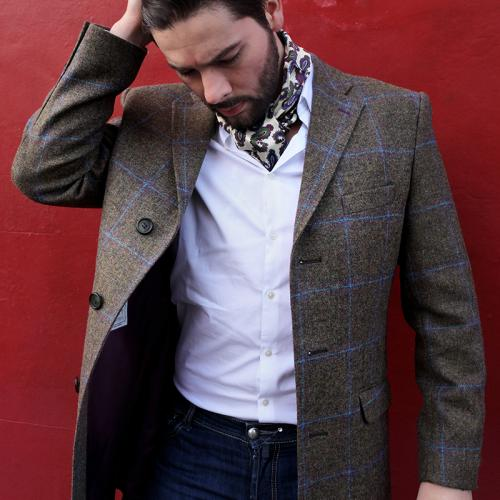 The 'Southdown' Three Quarter Length Jacket