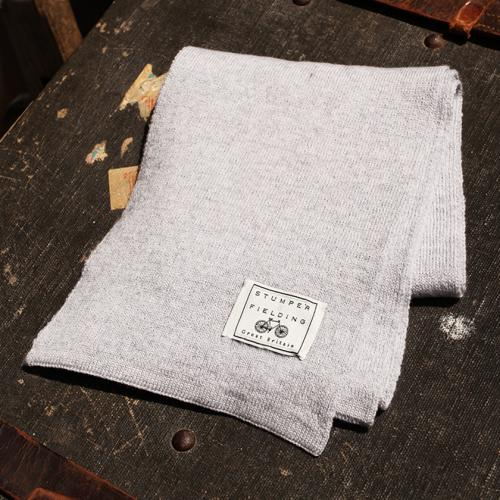 Slate Grey 100% Pure New Woollen Scarf