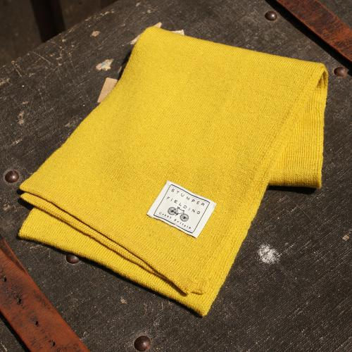 Mustard Yellow % Pure New Woollen Scarf
